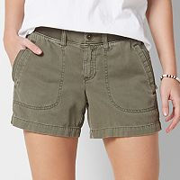 Women's SONOMA Goods for Life™ Comfort Waist Color Shorts
