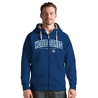 Men's Antigua Chicago Cubs 2016 World Series Champions Victory Zip-Up Hoodie