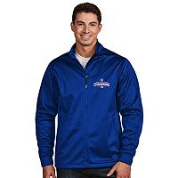 Men's Antigua Chicago Cubs 2016 World Series Champions Golf Jacket