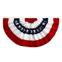 Celebrate Americana Together Large Bunting Flag Wall Decor