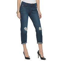 Women's Juicy Couture Flaunt It Ripped Slim Boyfriend Jeans