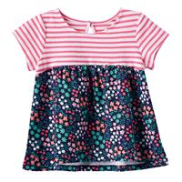 Baby Girl Jumping Beans® Babydoll Print Tunic