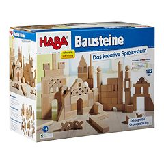 HABA Extra Large Building Blocks Starter Set by