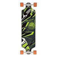 Flybar 38-Inch Glitch Green Longboard