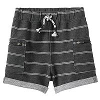 Baby Boy Jumping Beans® Striped Roll Cuff Shorts