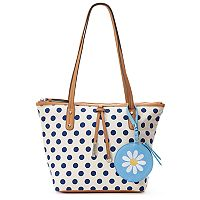 Rosetti AnneMarie Tote with Flower Coin Purse