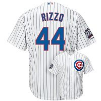 Men's Majestic Chicago Cubs Anthony Rizzo 2016 World Series Champions Cool Base Replica Jersey