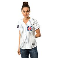 Women's Majestic Chicago Cubs 2016 World Series Champions Cool Base Replica Jersey
