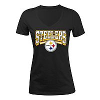 Women's 5th & Ocean Pittsburgh Steelers Jersey Tee