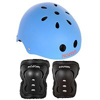 KaZam Multi-Sport Helmet, Knee Pads & Elbow Pads Set