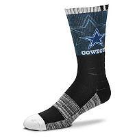 Adult For Bare Feet Dallas Cowboys Blackout Socks