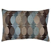 Spencer Home Decor Hyper Geometric Jacquard Oblong Throw Pillow
