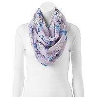 SONOMA Goods for Life™ Sketchy Floral Infinity Scarf