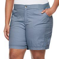 Plus Size Croft & Barrow® Utility Short