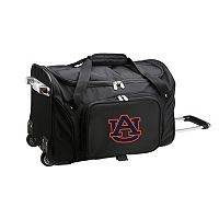 Auburn Tigers 22-Inch Wheeled Carry-On Duffle Bag