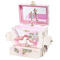 Enchantmints Sweet Fairy Wrens Musical Jewelry Box