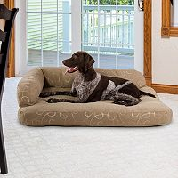 Paus Deluxe Jacquard Chaise Lounge Pet Bed