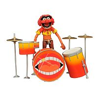 Diamond Select Toys Muppets Select Action Figure Series 2 Animal & Drums Action Figure