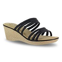 Tuscany by Easy Street Pilato Women's Wedge Sandals