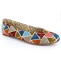 Dolce by Mojo Moxy Women's Tribal Ballet Flats