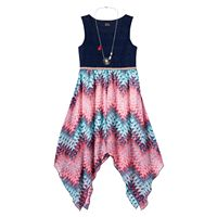 Girls 7-16 Lilt Lace Chiffon 4-Point Maxi Dress