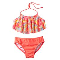 Girls 4-6x Freestyle Revolution Printed Tankini Swimsuit Set