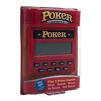 Trademark Games Electronic Handheld 5-in-1 Poker Game