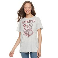 Juniors' Harry Potter Hogwarts Crest Graphic Tee