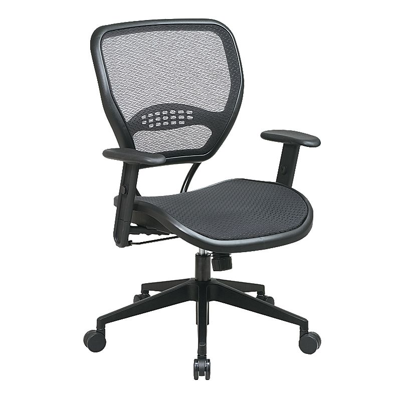 Office Star Products Air Grid Seat and Back Deluxe Task Chair