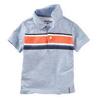 Toddler Boy OshKosh B'gosh® Short Sleeve Striped Polo Shirt