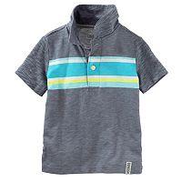 Toddler Boy OshKosh B'gosh® Stripe Slubbed Polo