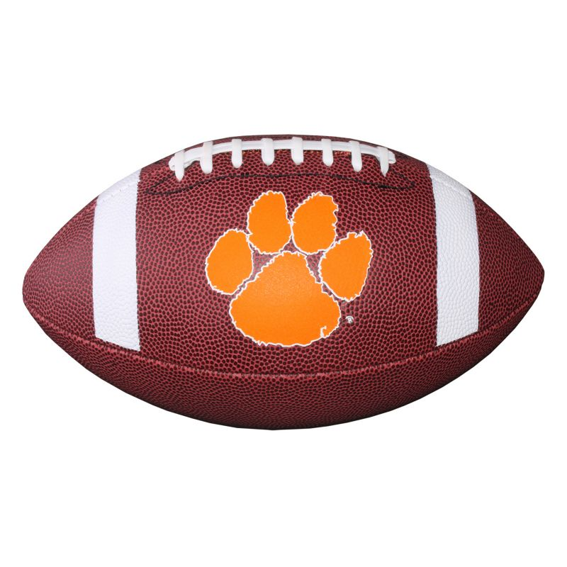 Baden Clemson Tigers Official Autograph Football, Brown thumbnail