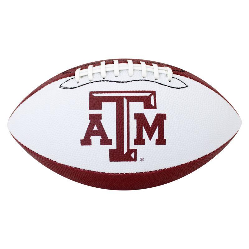 Baden Texas A&M Aggies Junior Size Grip Tech Football, Multicolor thumbnail