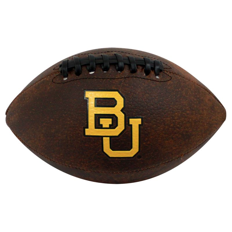 Baden Baylor Bears Mini Vintage Football, Brown thumbnail