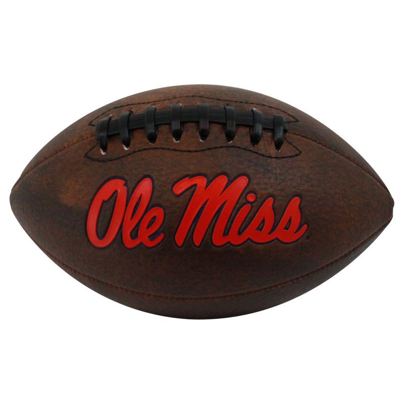 Baden Ole Miss Rebels Mini Vintage Football, Brown thumbnail