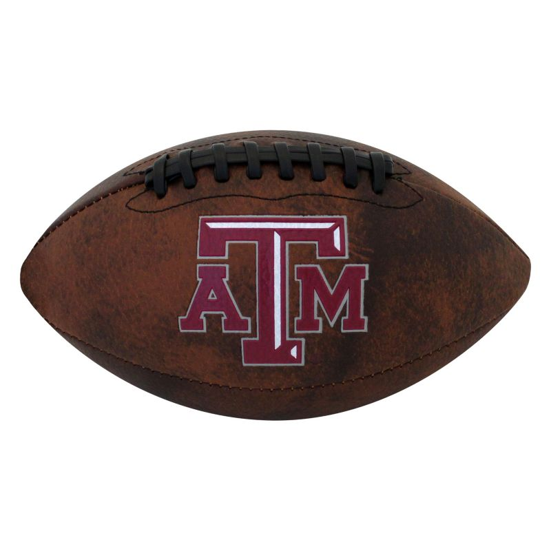 Baden Texas A&M Aggies Mini Vintage Football, Brown thumbnail