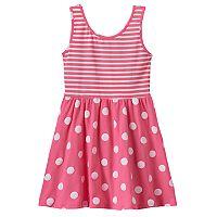 Toddler Girl Jumping Beans® Wrap-Back Print Dress