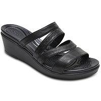 Crocs Leigh-Ann Women's Mini Wedge Sandals