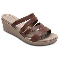 Crocs Leigh-Ann Women's Mini Wedge Sandals