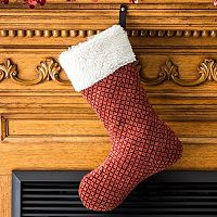 Paus Sculpted Suede Stocking