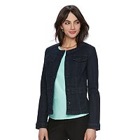 Women's ELLE™ Peplum Jean Jacket