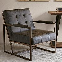 INK+IVY Waldorf Lounger Arm Chair