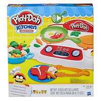 Play-Doh Kitchen Creations Sizzlin' Stovetop Set