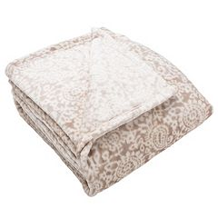 Bella Collection Plush Fleece Luxury Blanket by