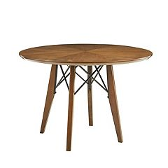 INK+IVY Clark Adjustable Round Dining Table  by