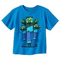 Boys 4-7 Minecraft Zombie Graphic Tee
