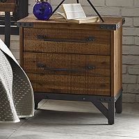INK+IVY Lancaster 2-Drawer Nightstand