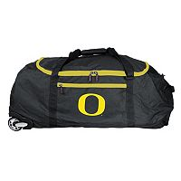 Oregon Ducks Wheeled Collapsible Duffle Bag