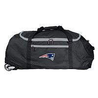 New England Patriots Wheeled Collapsible Duffle Bag