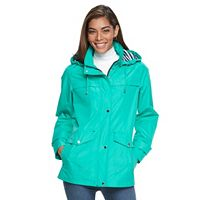 Women's d.e.t.a.i.l.s Hooded Anorak Rain Jacket